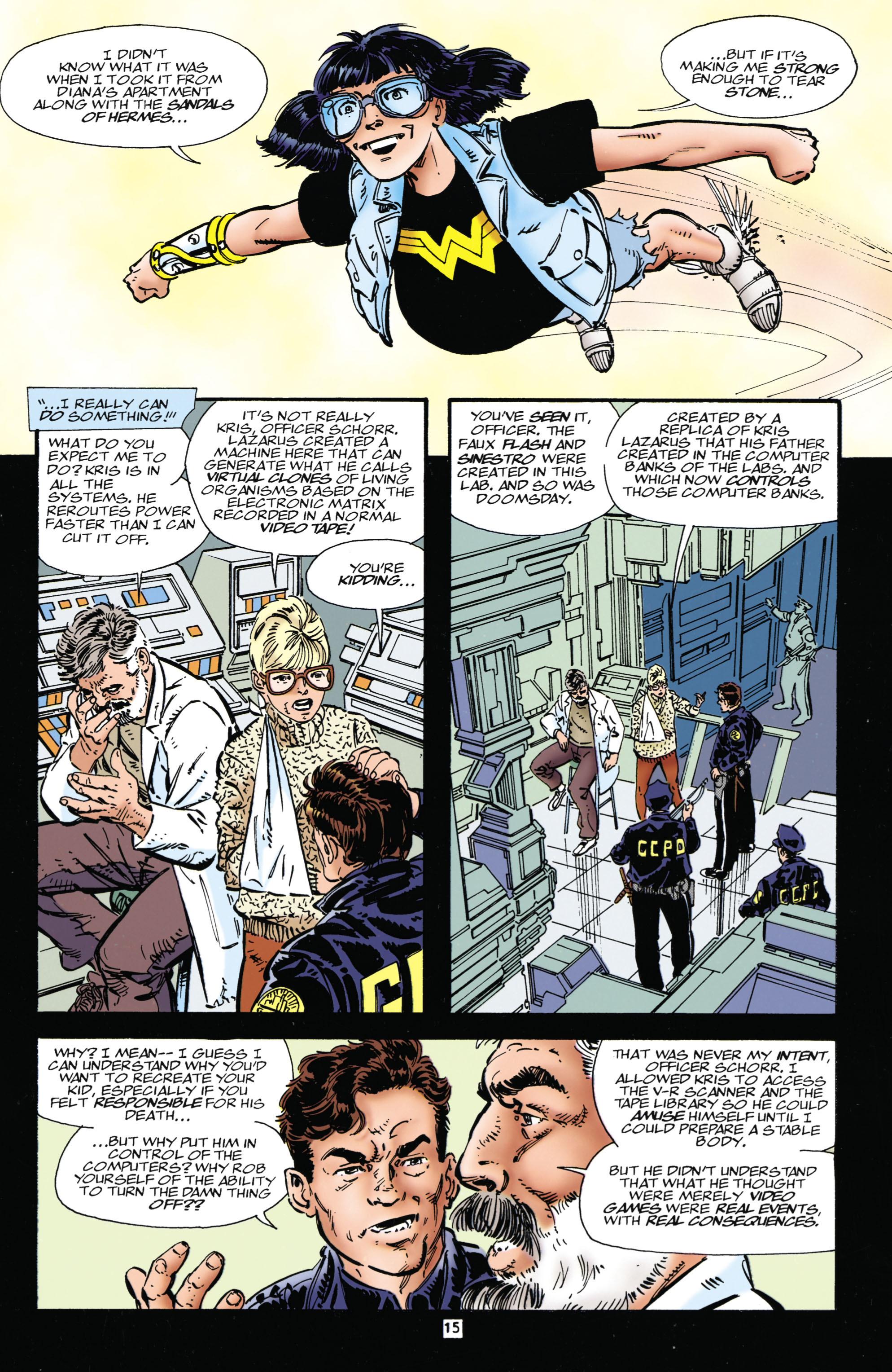 Read online Wonder Woman (1987) comic -  Issue #112 - 15