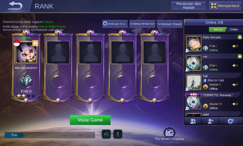 mengatasi lag saat main mobile legends