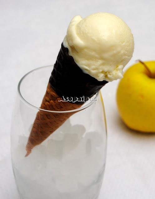 Helado de Yogur de Manzana