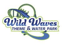 Wild Waves Theme & Water Park logo