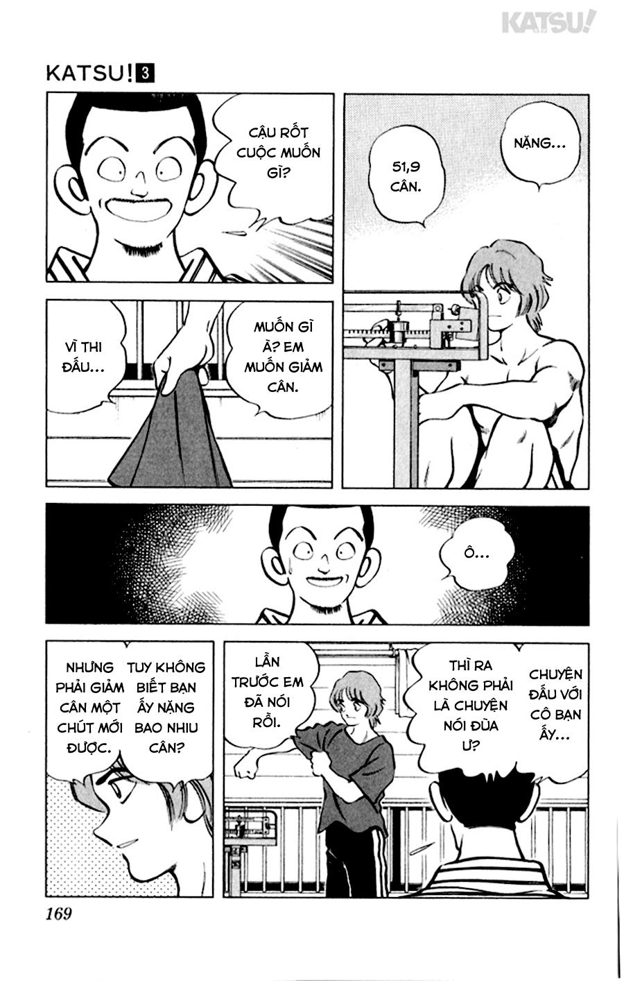 Katsu! chương 028: giai đoạn này trang 5