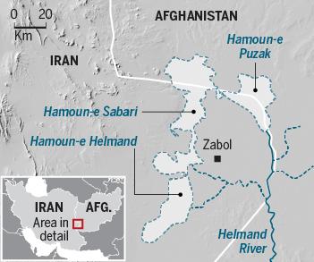 Collaborazione Iran e Afganistan per rinascita oasi morta