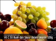 Inilah daftar 50 Buah dan Sayur sesuai dengan jumlah takaran Vitamin C per 100 gram
