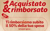 Logo Auchan : Acquistato&Rimborsato fino al 50% e fino a 500€ !