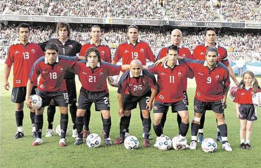 Formación de Chile ante República de Irlanda, amistoso disputado el 24 de mayo de 2006