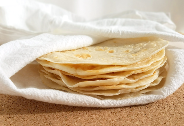 These tortillas / wraps are pliable, so they can hold all of your taco fillings without falling apart! They're also delicious, easy to make and extra nutritious!