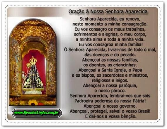 Oração De Nossa Senhora Aparecida Para Alcançar As Suas: Minhas Orações Preferidas!: Oração De Nossa Senhora