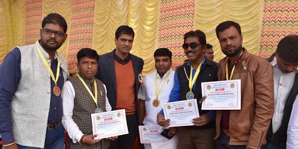 26 जनवरी को नगर के पांच पत्रकारों का प्रशासन ने किया सम्मान