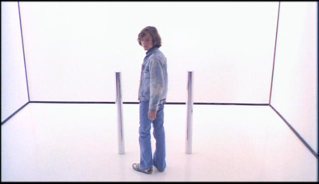 Mike standing in front of the spacegate in Phantasm (1979)