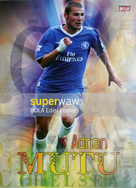 Poster Adrian Mutu (Chelsea)