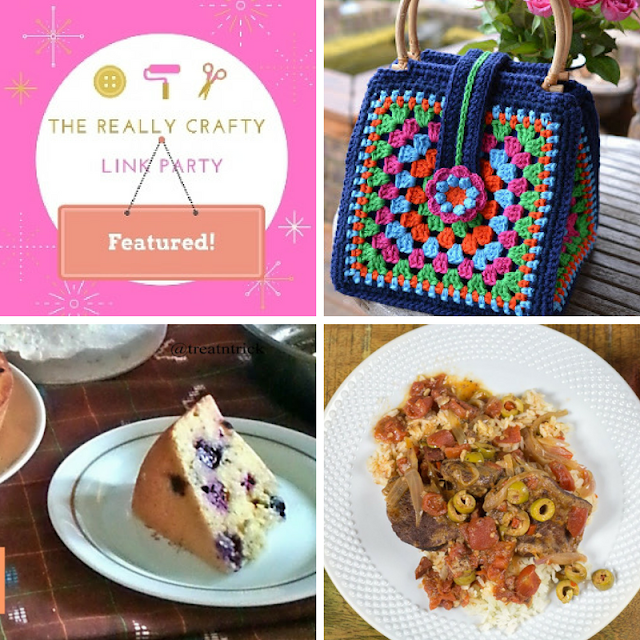 The Really Crafty Link Party #88 featured posts