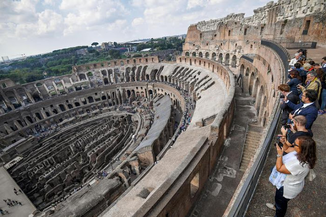 Colosseum's upper level to reopen after four decades