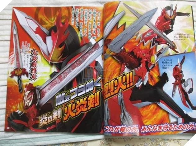 Hình ảnh Kamen Rider Saber