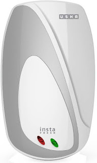 Flipkart- Buy Usha 1 L Instant Water Geyser (White, Silver, Instafresh 3000-Watt) at Rs 1999