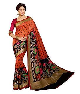 Bhagalpuri Cotton Silk Saree from Binny Creation