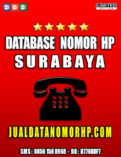 Jual Database Nomor HP Area Surabaya