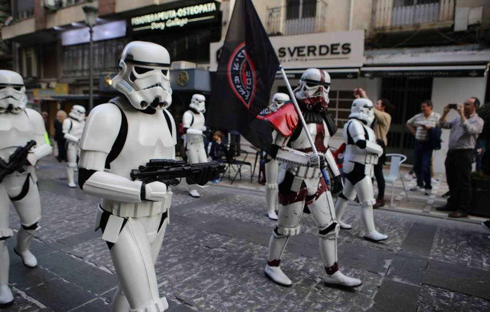 La Legion 501 en la milla solidaria Fanconi - Vigopeques