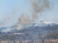 požar Donji Humac Nerežišća slike otok Brač Online