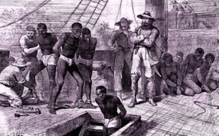 Dutch sea captain Willem Bosman in 1705 wrote a firsthand detailed account of how the middle passage slave trade was managed in West Africa.
