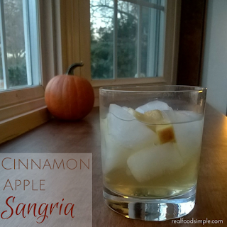 cinnamon apple sangria | realfoodsimple.com