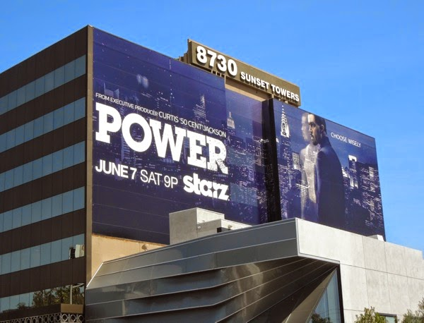Giant Power series launch billboard