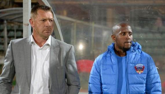 Tinkler's assistant Vincent Kobola also out at Chippa United
