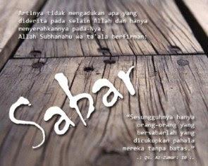 Hadits Riyadhus Shalihin Bab Sabar