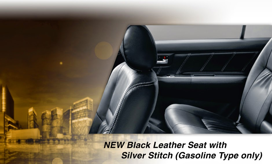 new-fortuner black-leather seat