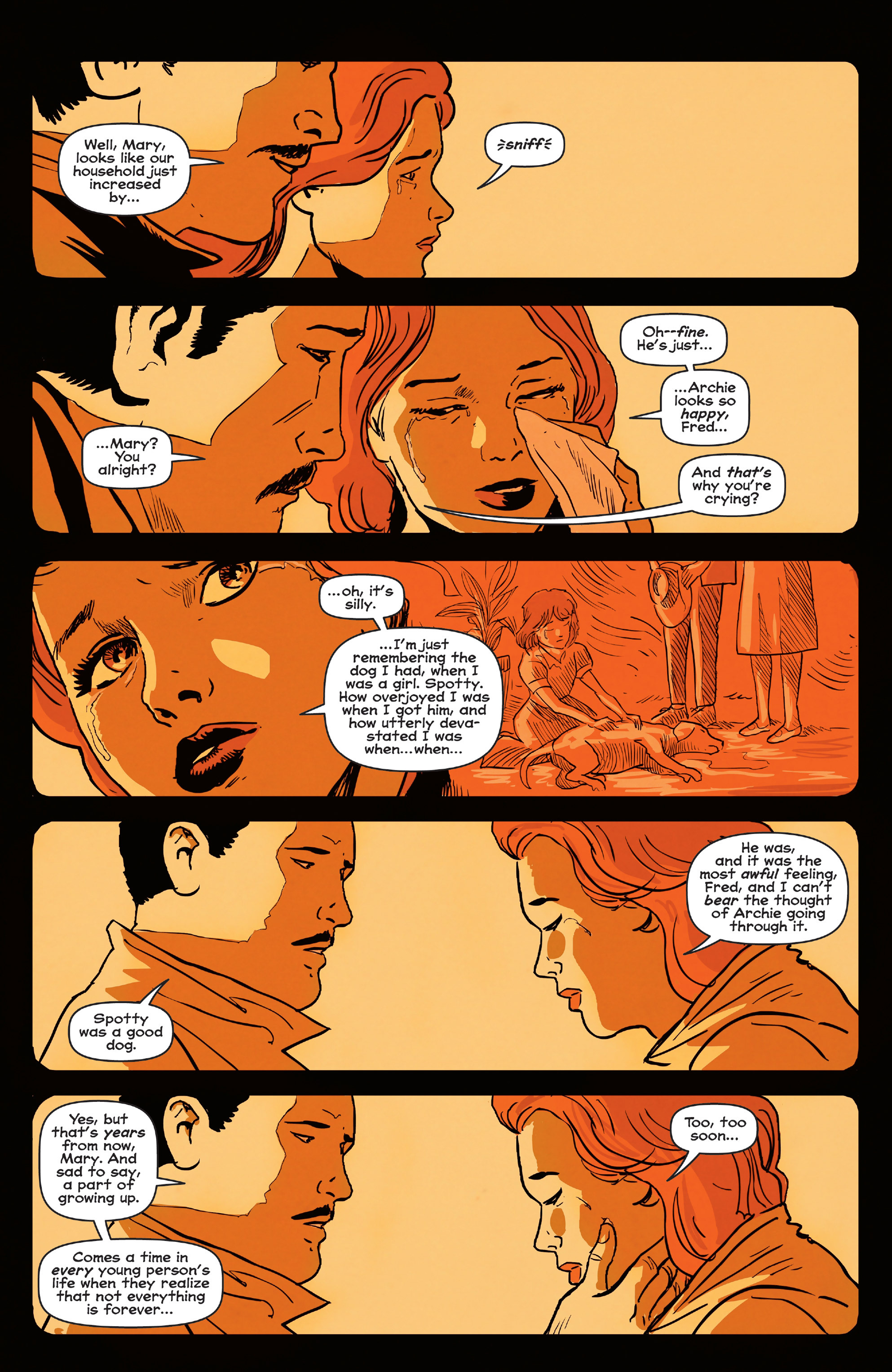 Read online Afterlife with Archie comic -  Issue #4 - 6
