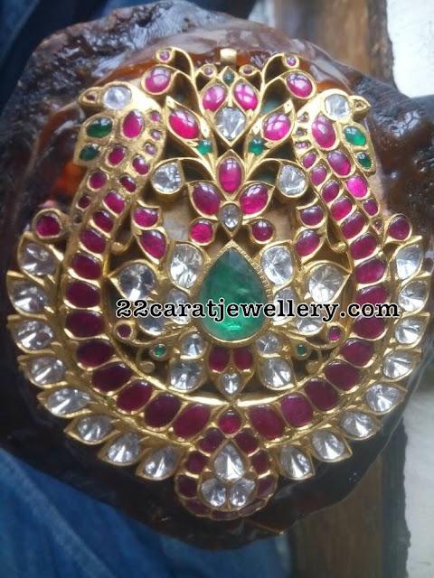 Colorful Gemstones Attractive Pendant