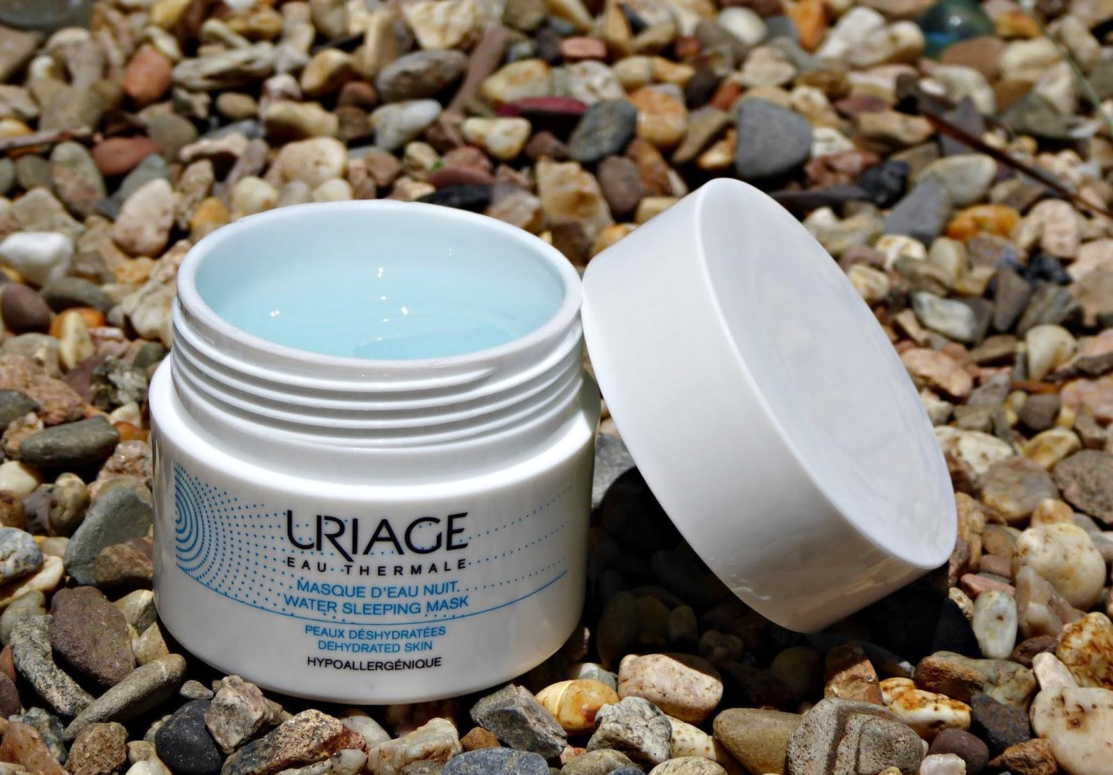 Water sleeping mask de Uriage, agua termal y ácido hialurónico para una piel 8 horas de sueño