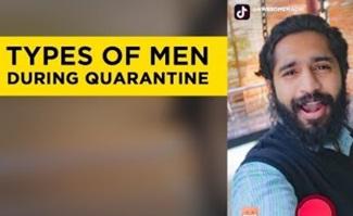 Types of men during Quarantine   Awesome Machi