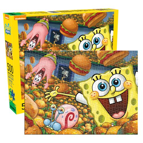 500 piece Puzzle Retro Nickelodeon HEY ARNOLD Licensed Product by AQUARIUS