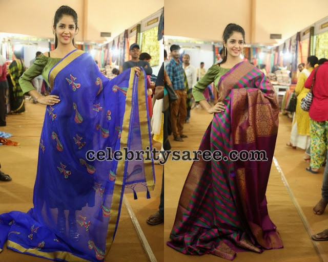 kashish-vohra-inauguarated-national-silk-expo