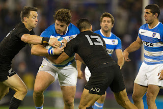 Los Pumas cayeron ante los All Blacks