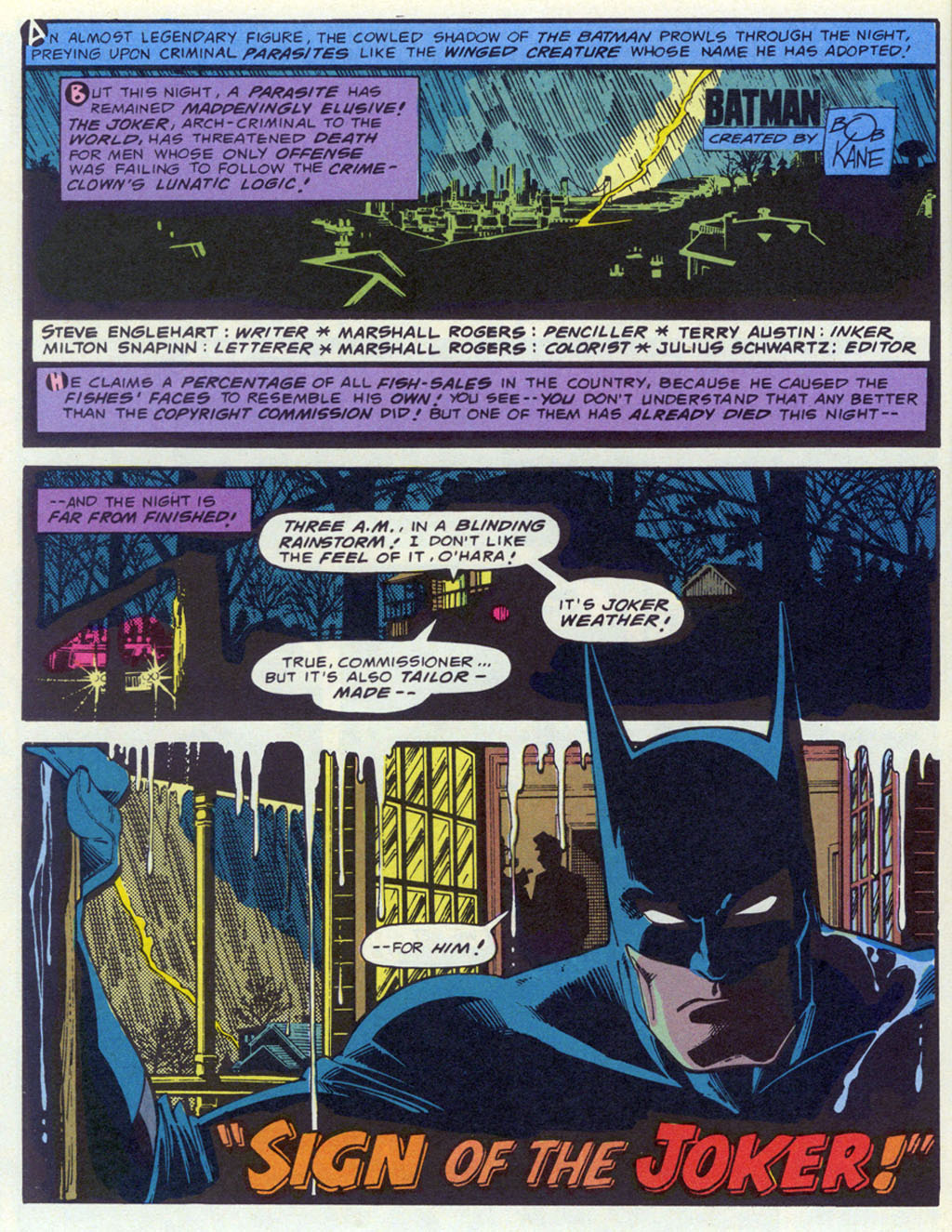 Read online Shadow of the Batman comic -  Issue #4 - 21