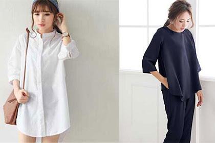Model Blus Dengan Bahan Sifon Untuk Wanita Terbaru