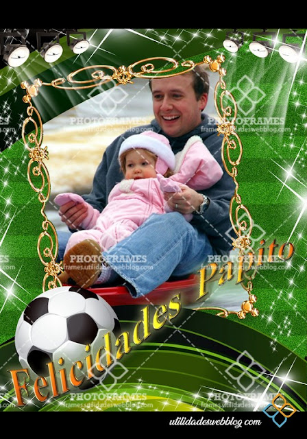 Father´s day Photoframe template