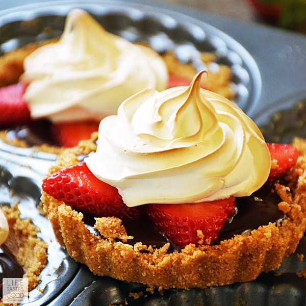 Strawberry S'Mores Tartlets