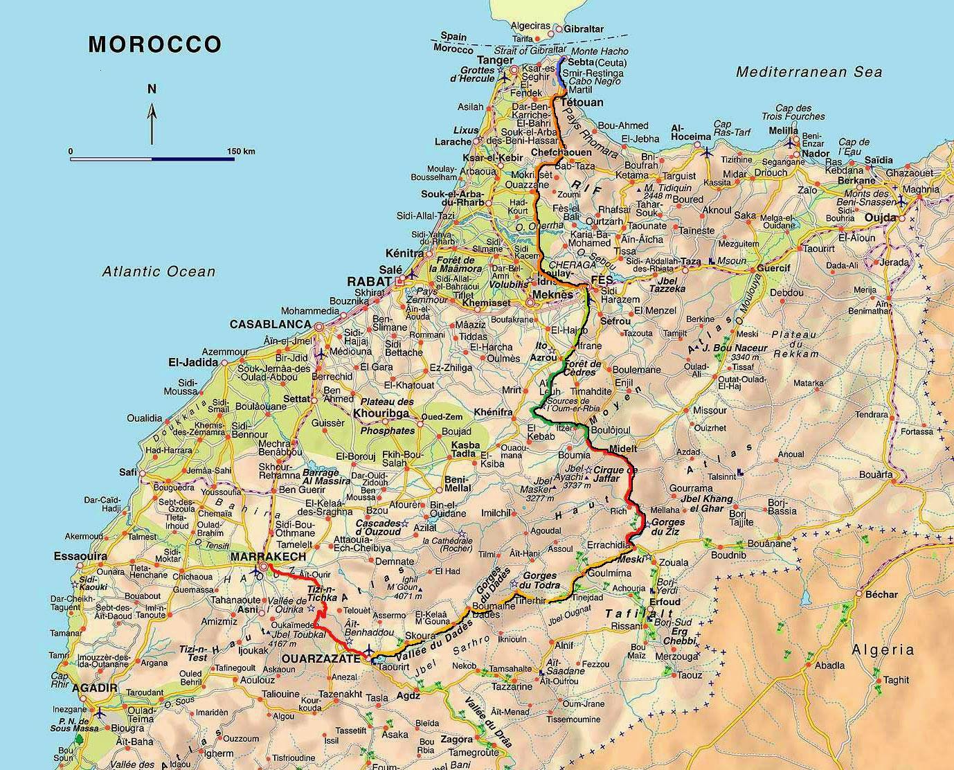 Marruecos En Bici El Viaje