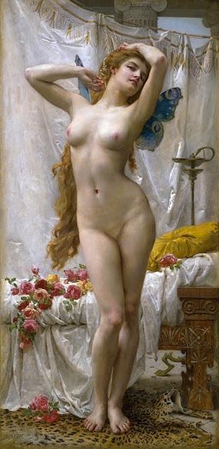 SEIGNAC - risveglio di Psiche - sex art - nudo femminile