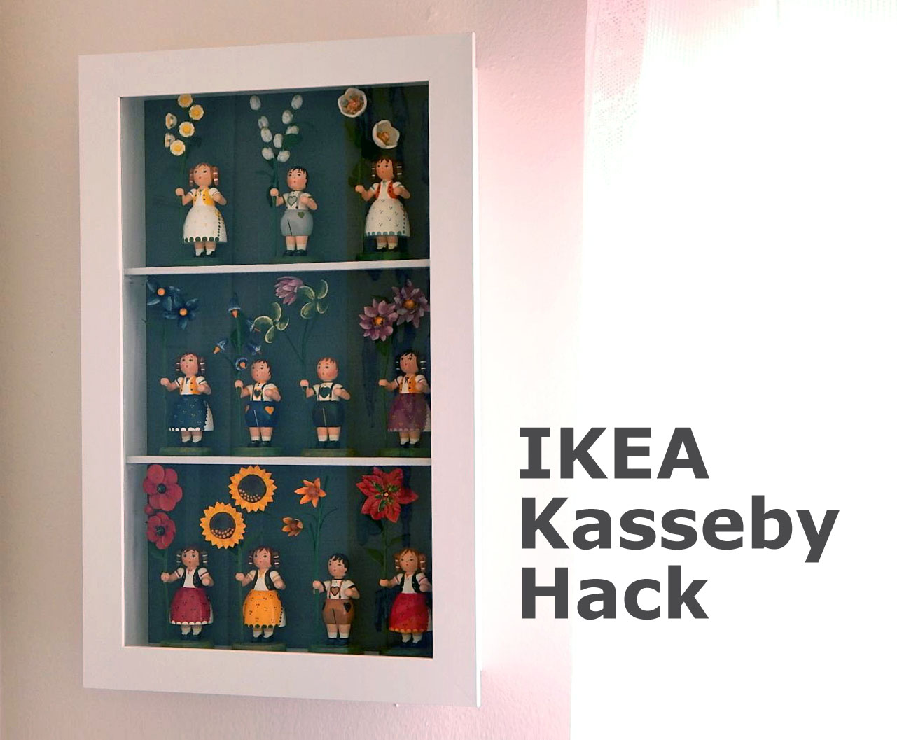 Ikea Keby Hack Make A Doll Display Case