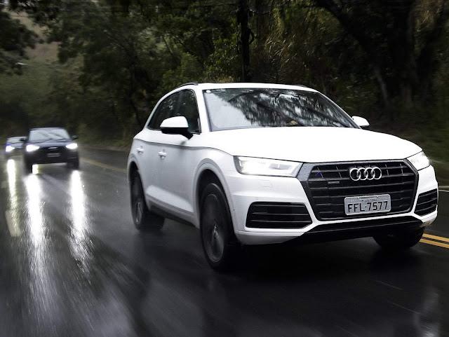 Novo Audi Q5 2018 - Branco