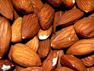 Dry Fruits Name Almond