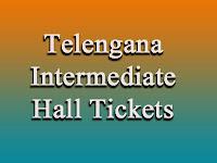 TS Intermediate Hall Tickets 1st, 2nd year Exam 2017