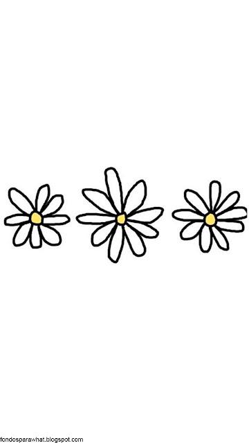 Fondo con Flores estilo Tumblr
