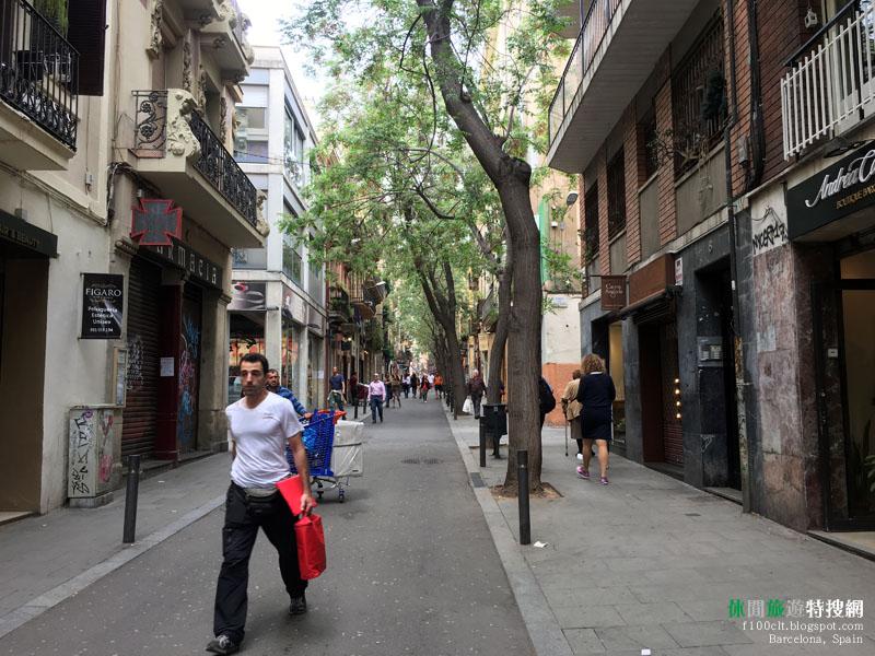 [西班牙.巴塞隆納] 漫步在格拉西亞大道中 奔跑在巴塞隆納海灘上