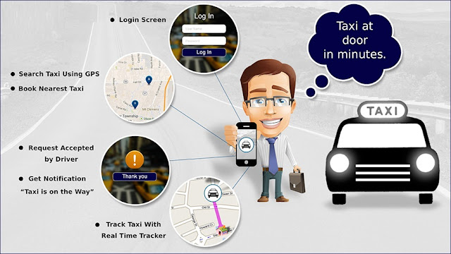 Track Taxi by GPS