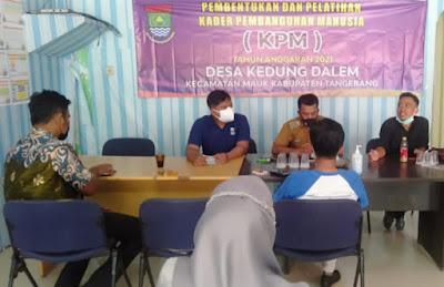 Desa Kedung Dalem laksanakan program Pembentukan dan Pelatihan Kader Pembangunan Manusia