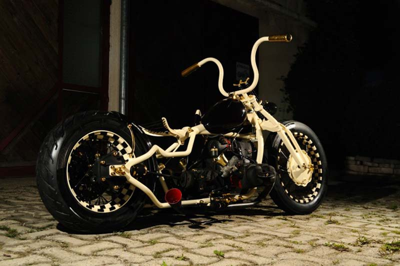 a nice bobber made from a Dnipro MT